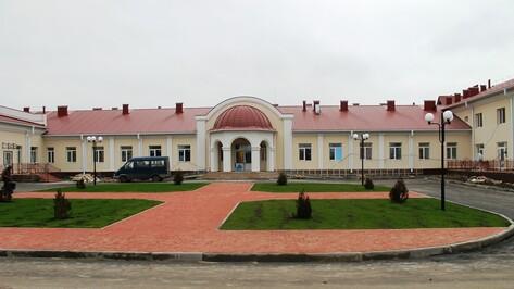 В Острогожском районе начали строительство дома для престарелых