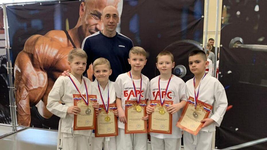 Борисоглебские рукопашники взяли 9 золотых медалей на открытом областном первенстве