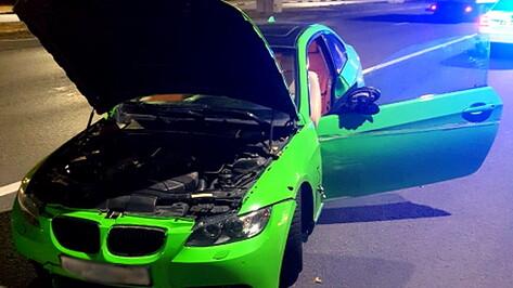 Уезжавшего на BMW от полиции лихача арестовали в Воронеже на 10 суток