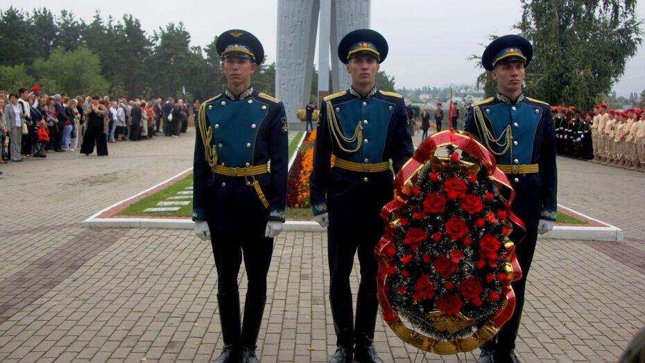 Сотрудники ООО «РВК-Воронеж» почтили память расстрелянных в годы войны
