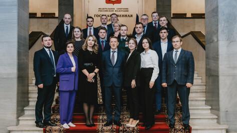 Алексей Гордеев напомнил воронежской молодежи о важности участия в нацпроектах