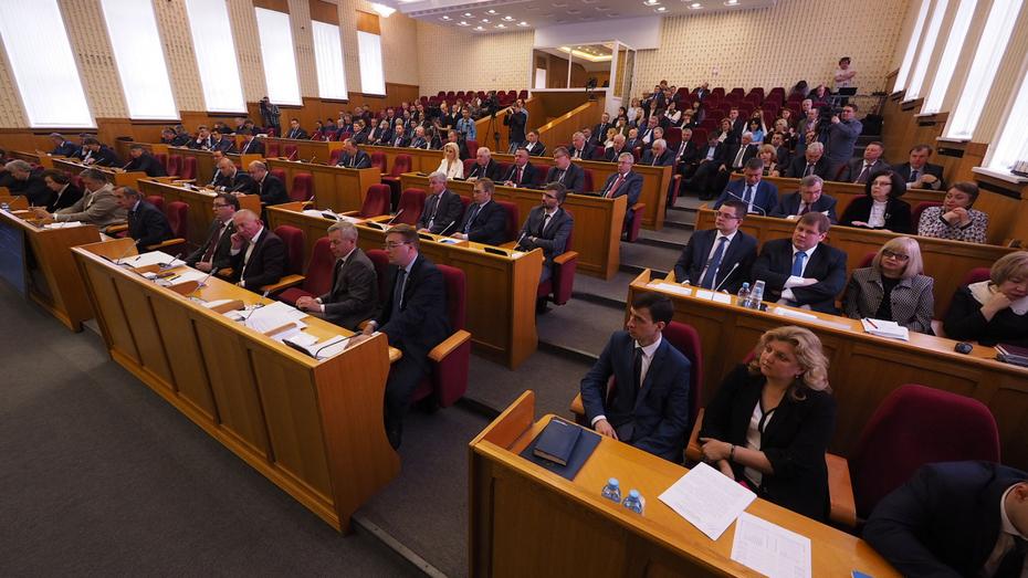 Запрет на бизнес может сократить список воронежских депутатов