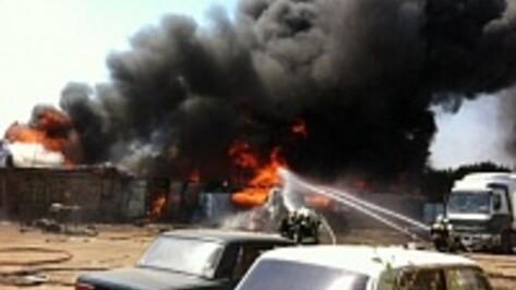 За пожар в воронежском микрорайоне Придонской ответит владелец участка