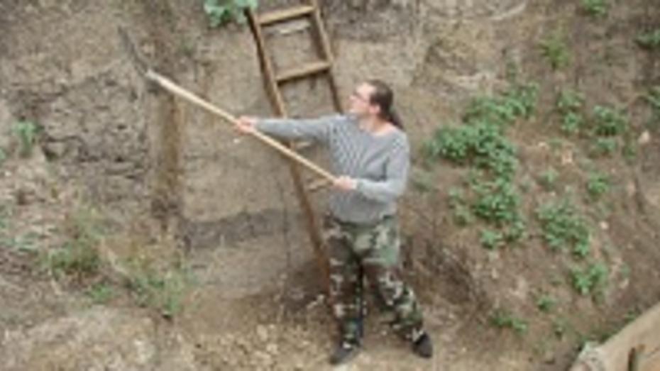 Сотрудник РАН купил участок в Хохольском районе и проводит там раскопки