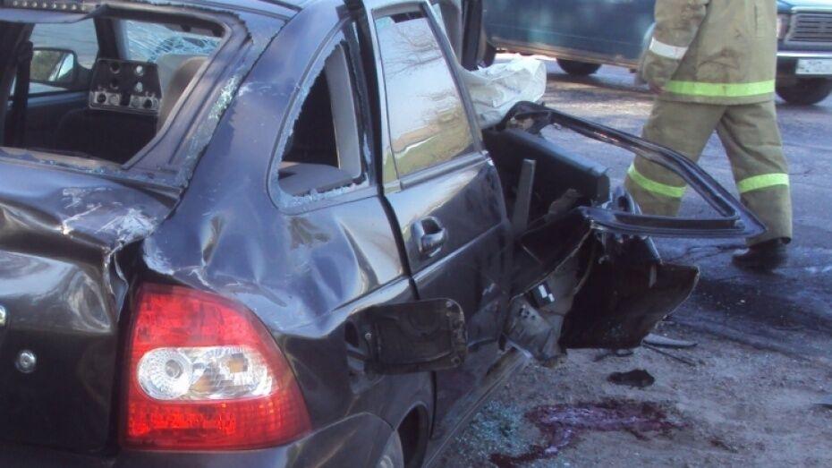 Участником аварии с двумя «Ладами» в Воронежской области был полицейский
