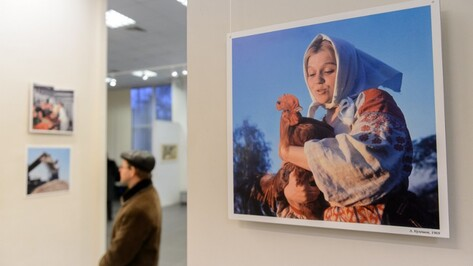 В Воронеже открылась выставка архивных фотографий журнала «Огонек»