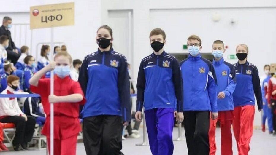 Воронежские спортсмены привезли 30 медалей с первенства и чемпионата России по ушу