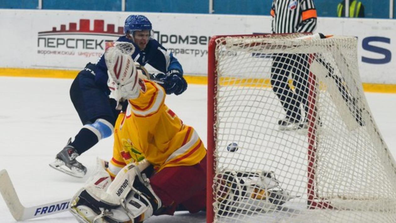 Воронежский «Буран» впервые в истории ВХЛ обыграл «Липецк»