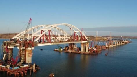 Россияне выбрали название для моста с воронежскими арками через Керченский пролив
