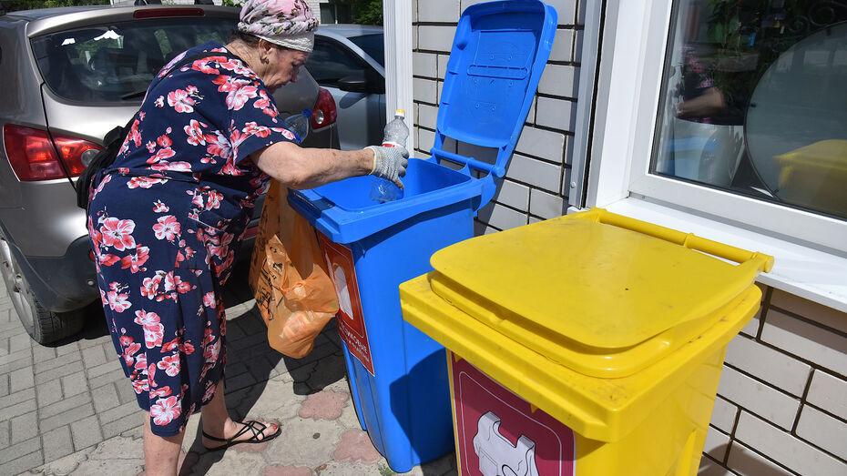 В Воронежской области на контейнерах для раздельного сбора отходов появятся памятки
