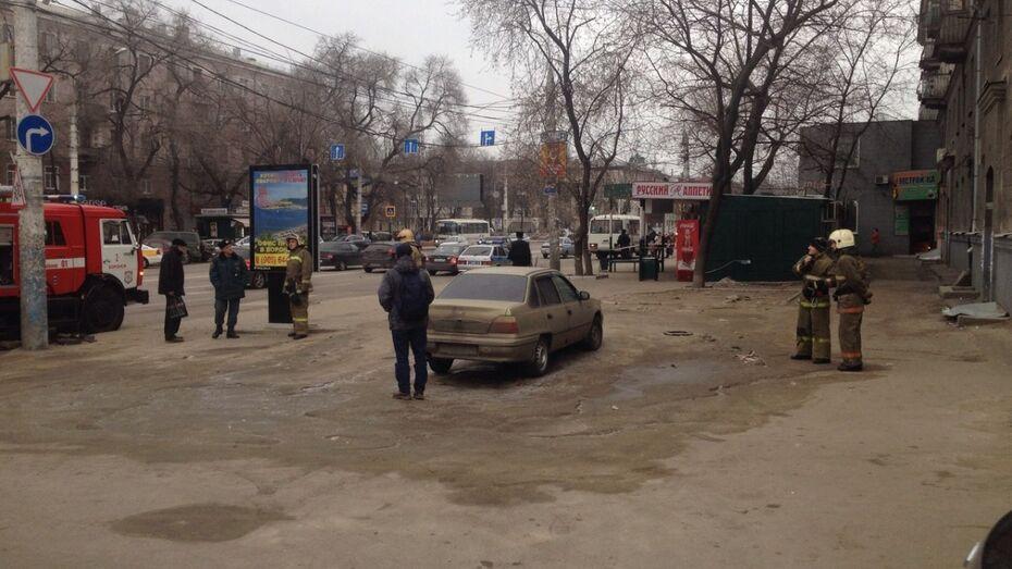 В Воронеже из-за забытой сумки оцепили остановку «Луч»