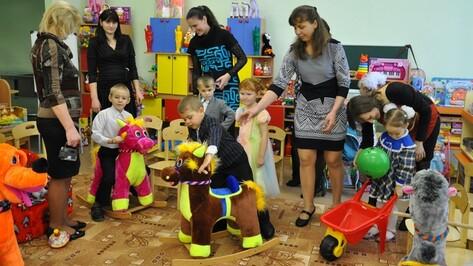 В поселке Первомайском Эртильского района состоялось открытие группы детского сада