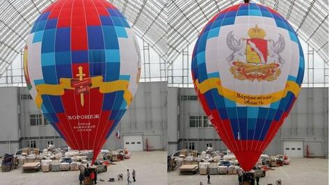 Победный воздушный шар пролетит над Воронежем 9 мая