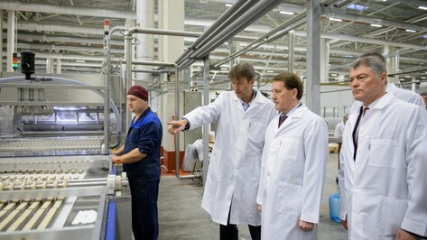 Фабрика «КДВ Воронеж» выйдет на проектные мощности через 1,5 года