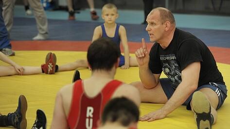 Александр Карелин научил воронежских борцов правильно нервировать соперника