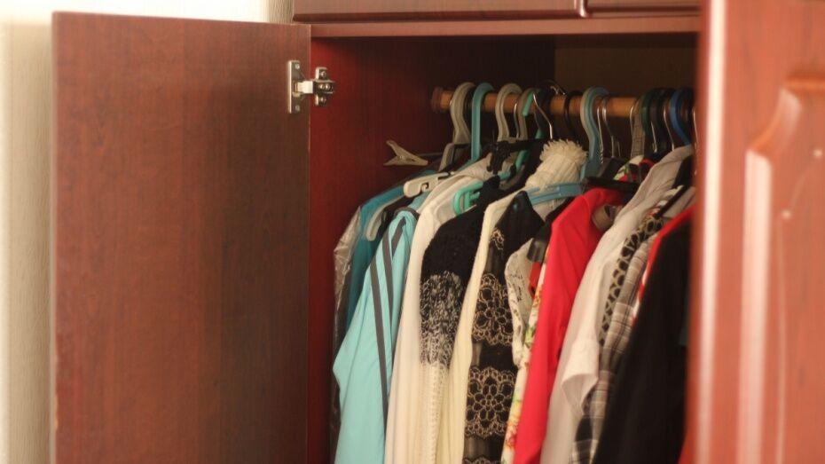 В Воронежской области должница спряталась от приставов за шкафом