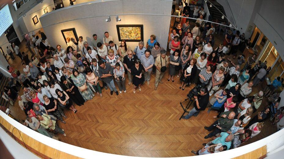 В музее Крамского в Воронеже выставили «формулы» авангардиста Павла Филонова