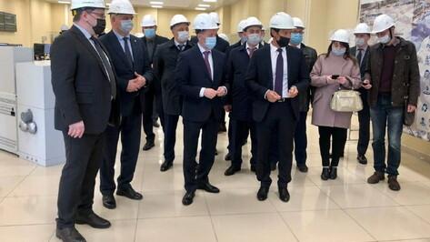 Алексей Гордеев оценил производственные мощности воронежского филиала «Квадры»