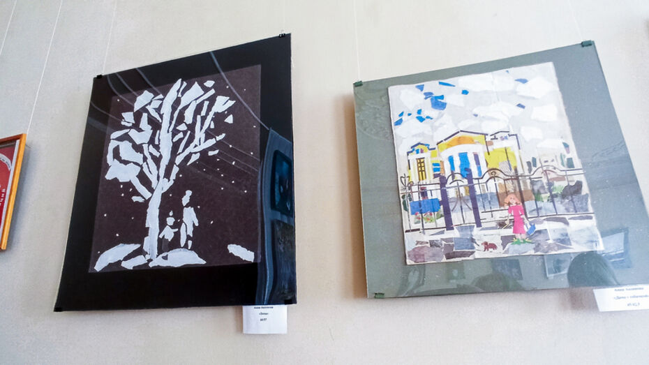 Выставка картин в технике аппликации открылась в Лисках