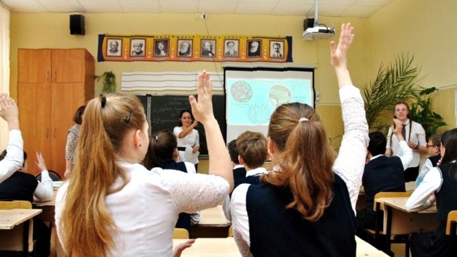 Дополнительное финансирование получат школы Воронежской области