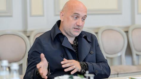 Захар Прилепин в Воронеже: «Люди заскучали в интеллектуальном смысле»