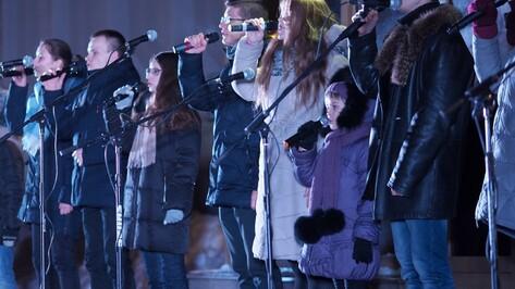 Митинг-концерт в честь присоединения Крыма к РФ собрал 2 тыс воронежцев