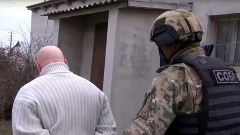 Задержание воронежца из федерального розыска в Севастополе попало на видео