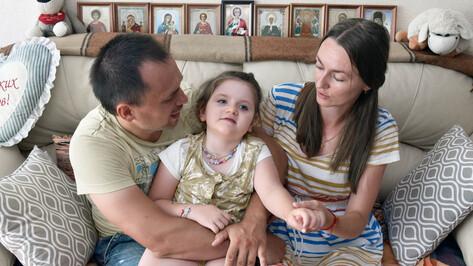 Важен каждый рубль. Русфонд попросил о помощи для 3-летней девочки из Воронежа
