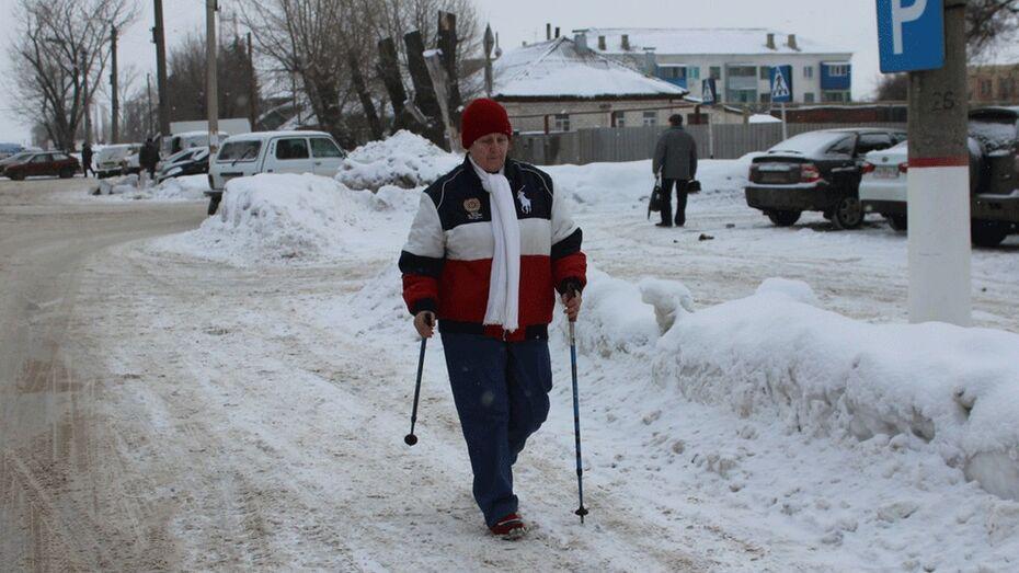 Жительница Таловского района создала клуб любителей скандинавской ходьбы