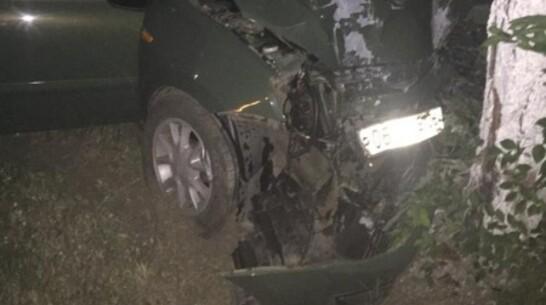 Под Воронежем водитель «Лады Калины» ночью врезался в дерево и погиб