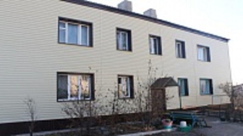 В Петропавловке капитально отремонтировали многоквартирный дом
