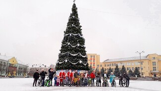 В Лисках новогодний велозаезд состоится 29 декабря