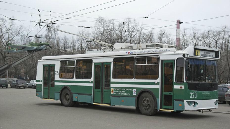 Из-за аварии на работу не вышли 2 троллейбусных маршрута в Воронеже