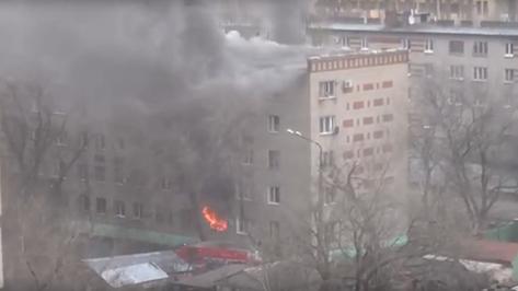 В Воронеже при пожаре на улице Старых Большевиков погибли 2 человека