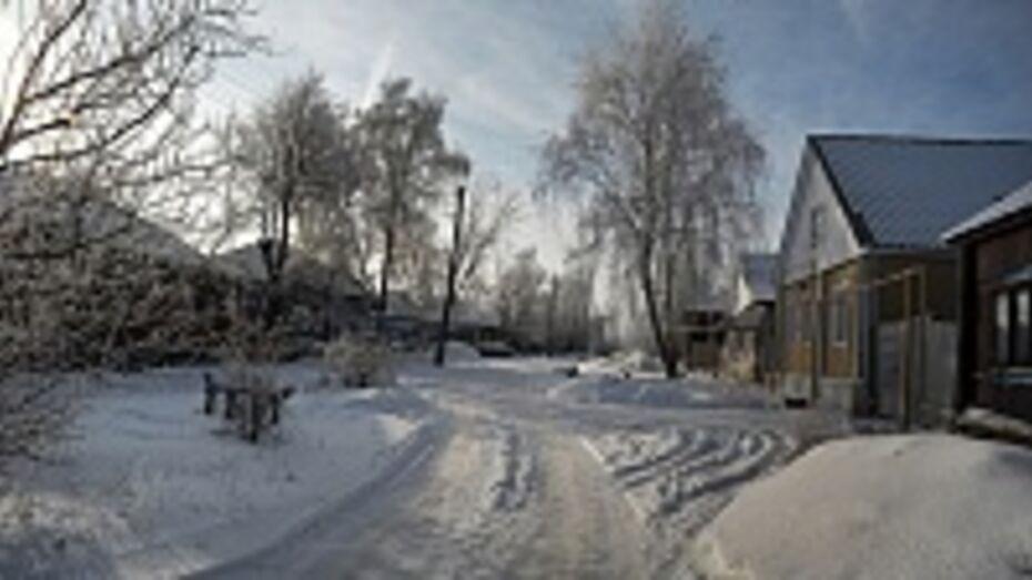В Верхнемамонском районе в своем доме замерзла пожилая женщина