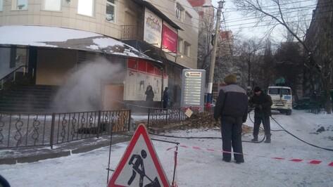 В Воронеже жители многоэтажки лишились отопления из-за аварии на теплосети