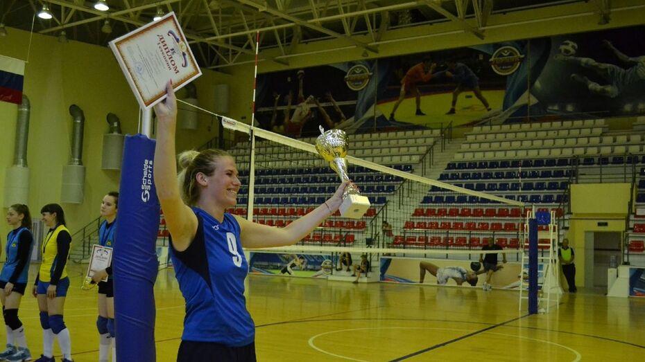 Павловские волейболистки победили в чемпионате области