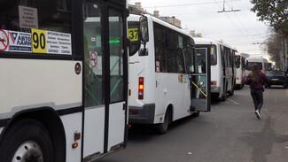 Власти Воронежа выставили на торги более 100 городских маршрутов