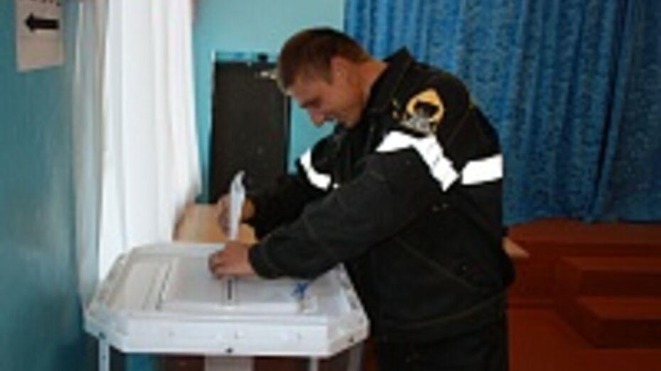 В Ольховатском районе Алексей Гордеев набрал 89,38% голосов на выборах губернатора