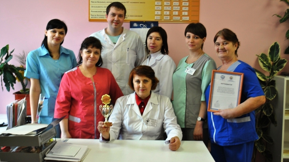 Неврологическое отделение лискинской больницы заняло 1 место в области