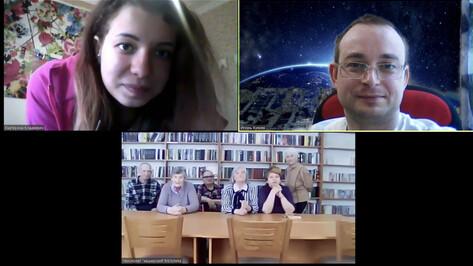 Воронежские волонтеры через Zoom споют песни проживающим в домах престарелых