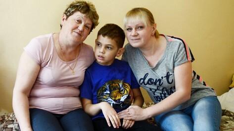 У прооперированного 10-летнего Миши Фролова из Семилук прижились донорские клетки