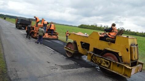 Эртильские дорожники начали ремонт автотрассы областного значения