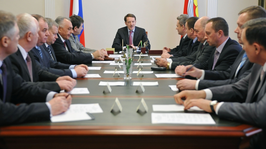 Губернатор встретился с главами районов Воронежской области