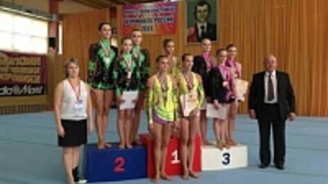 Воронежские акробаты завоевали три медали чемпионата России