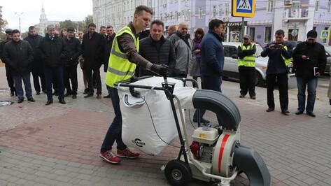 Мэрия Воронежа частично покроет дефицит дворников уборочной мини-техникой