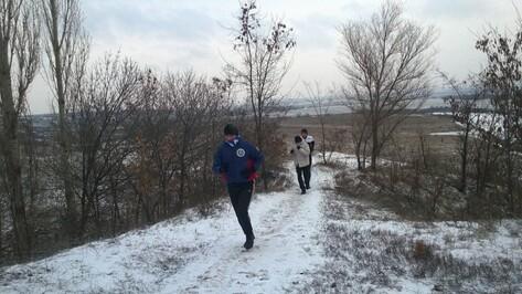Семилукские спортсмены начали новый год трезвой пробежкой