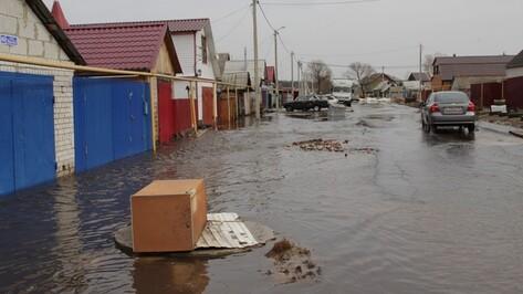 Из-за резкого потепления в Шуберском талыми водами было подтоплено 190 домовладений