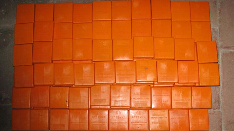 В Воронеже в подвале торгового центра нашли 2 тысячи психотропных таблетки