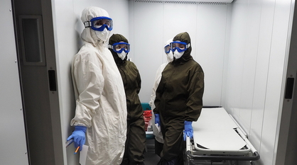 Более 96% сотрудников воронежских медицинских организаций сделали прививку от ковида